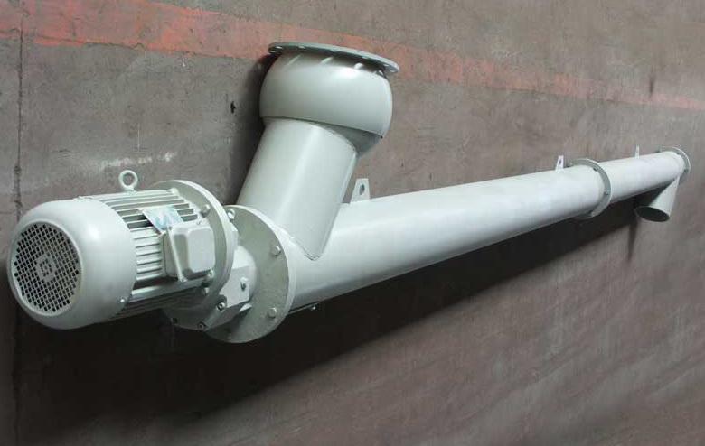 шнековый конвейер в трубе